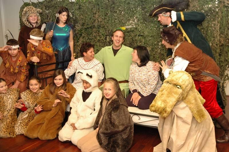 Probenfoto: Das Peter Pan Ensemble