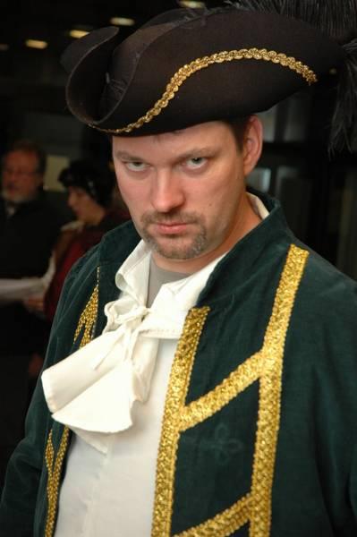 Captain Hook (Thomas Petschat) Backstage